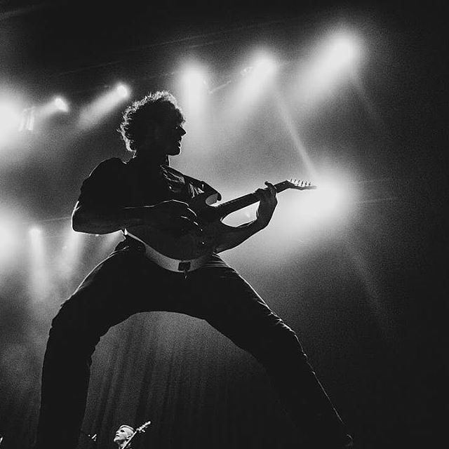 Gotta love a classic black and white stage shot. Thanks to all the dedicated gig photographers who consistently capture amazing moments from our shows. It's a humbling feeling being part of a music community in this country that is so hard working and dedicated. Big love to all the unreal #photographers ♥ 📸  Regrann from @dylanmartin_photography -  @orsomewelles on Friday supporting @seetherofficial - #regrann