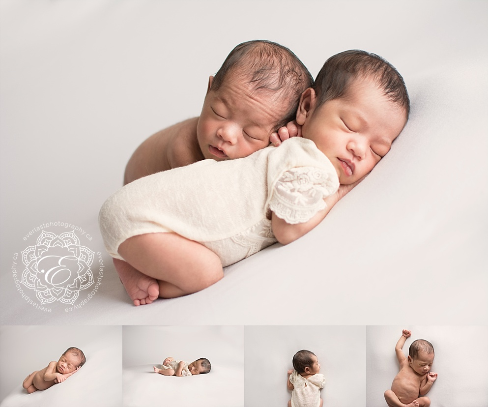 edmonton twin newborn photographer