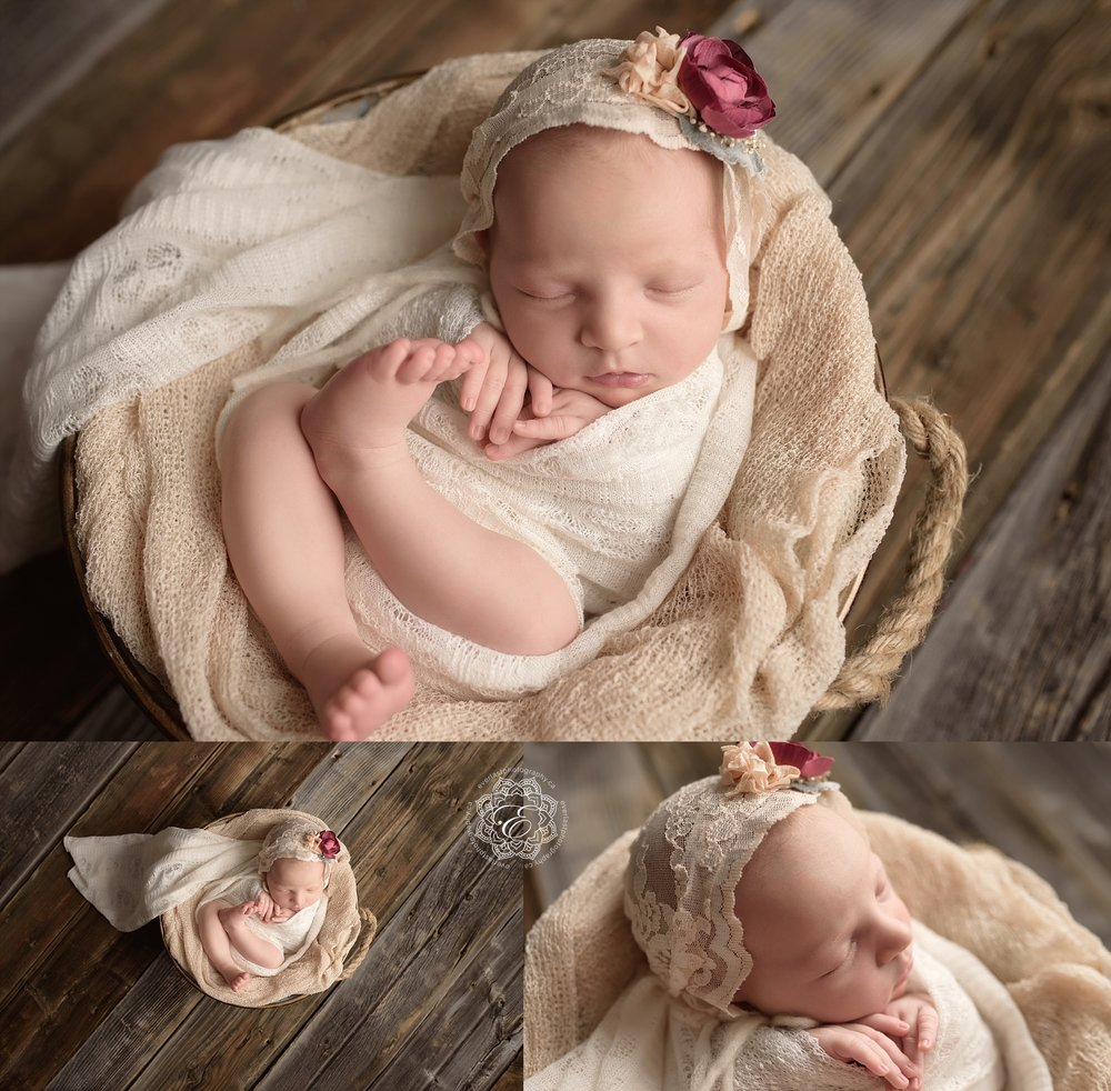 Beautiful baby klaras newborn portraits elk island edmonton newborn maternity photographer everlast photography