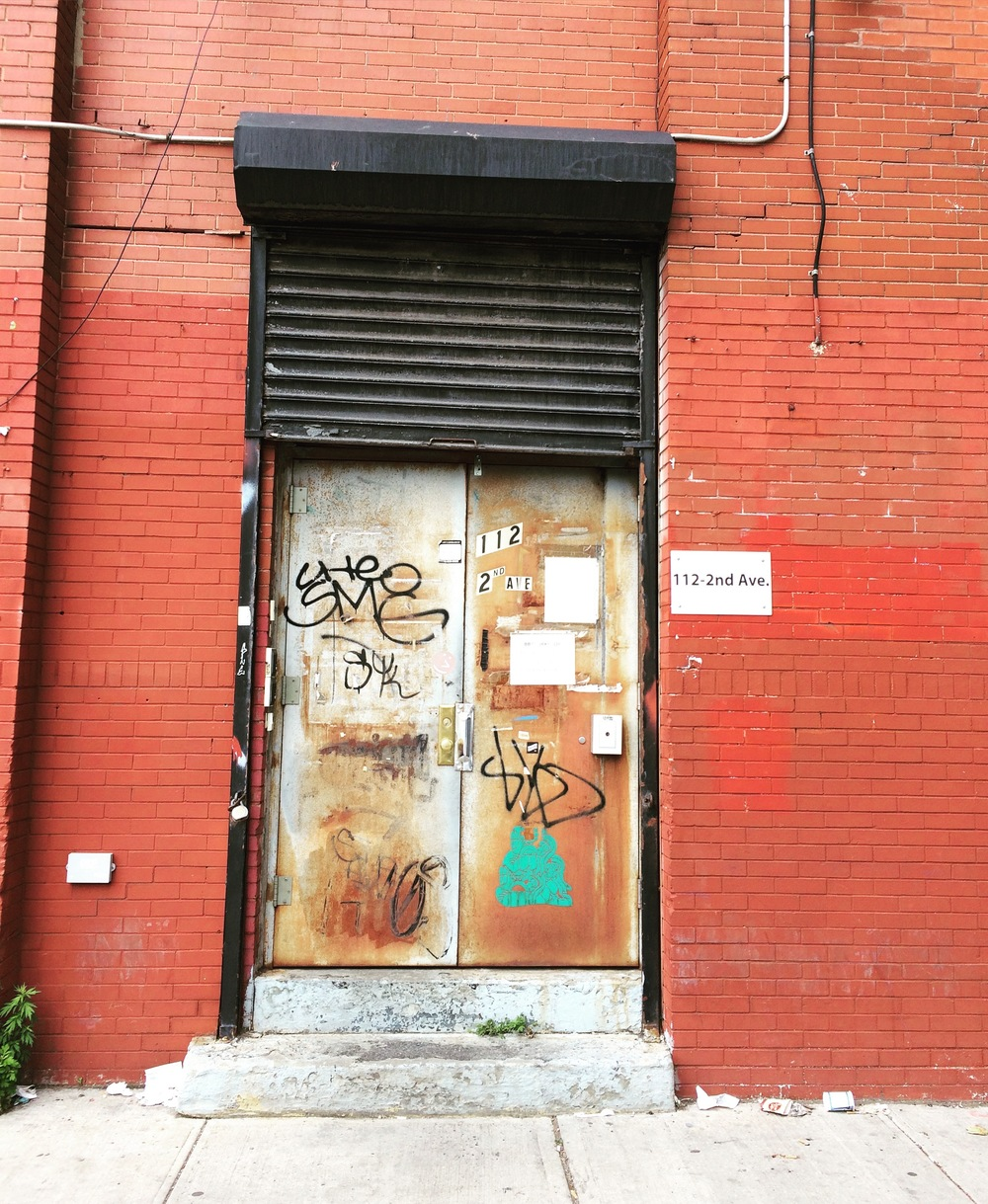 The main door of Gowanus Studio!