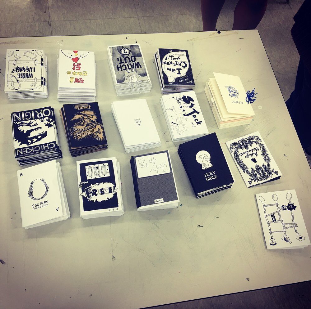 At Seoul Tech - Zine project