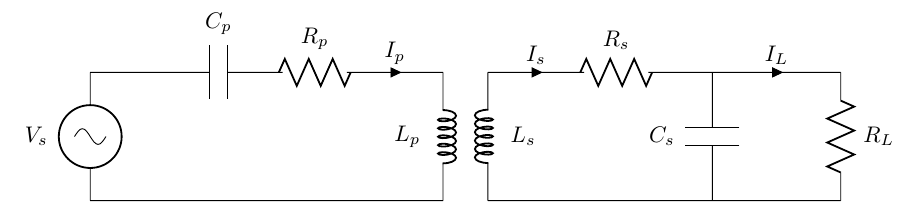 Series Parallel WPT Circuit