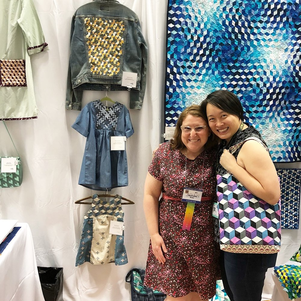 Sherry Shish, AKA Powered by Quilting, is a blogger and pattern designer.