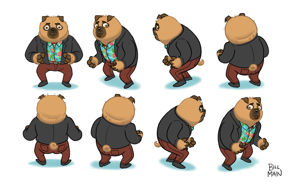 Billy Character Turnaround