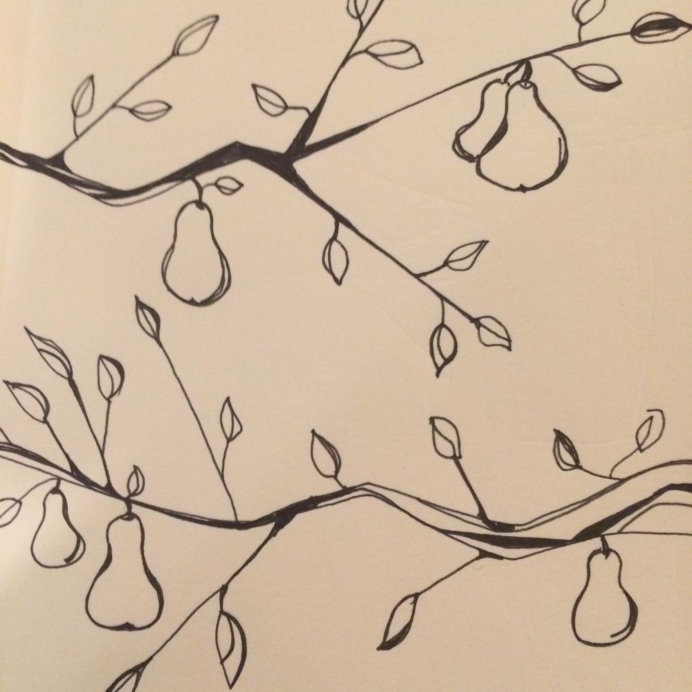 Pear Tree - sans Partridge