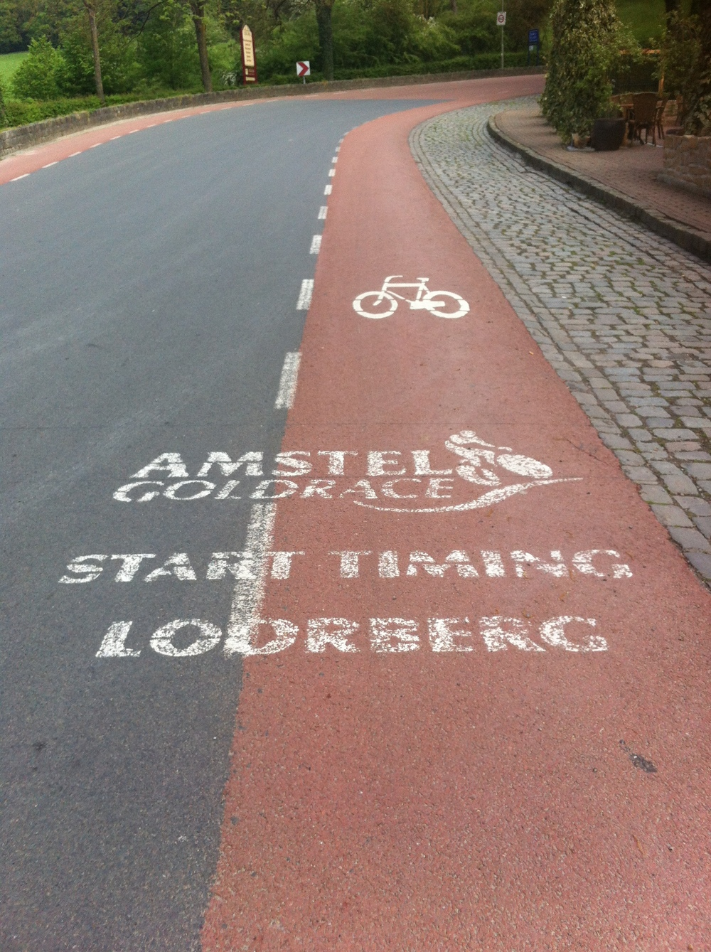 Slenaken climb used in Amstel Gold Race
