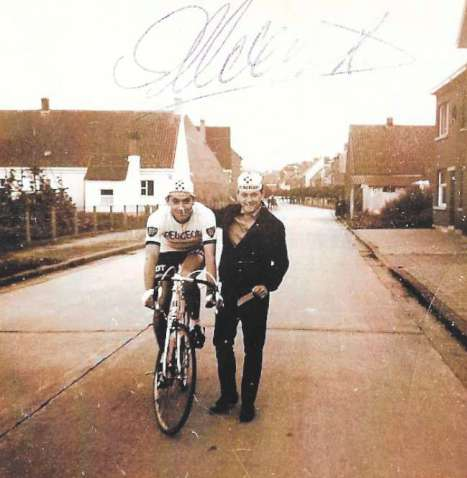 Eddy Merckx & Eddy Verbust (in 1967)