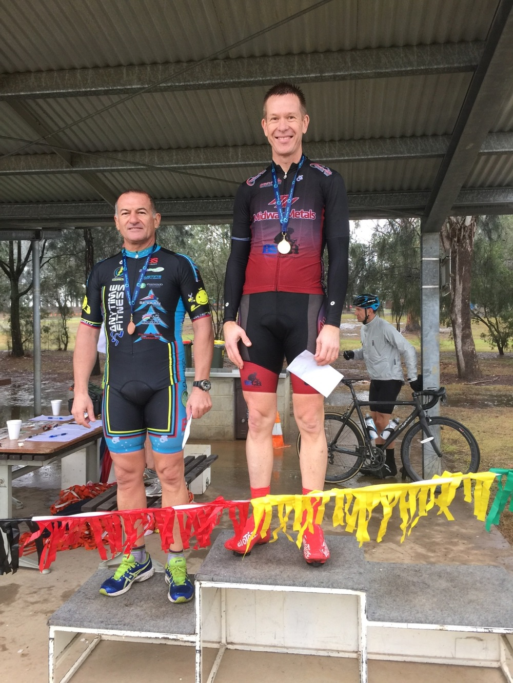 Anthony Colantonio 3rd in Masters M5 at Penrith Lakes