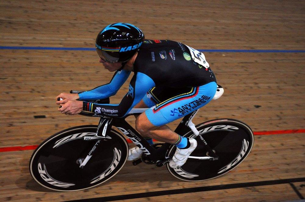 Jayson Austin sets a World Hour Record of 48.411k in February 2013