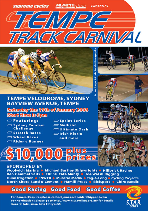BiciSport Track Open 2008 at Tempe Velodrome