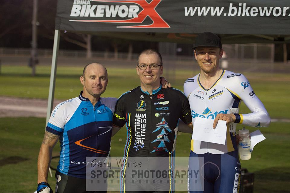 Gosford Track Open - David Browne takes a win