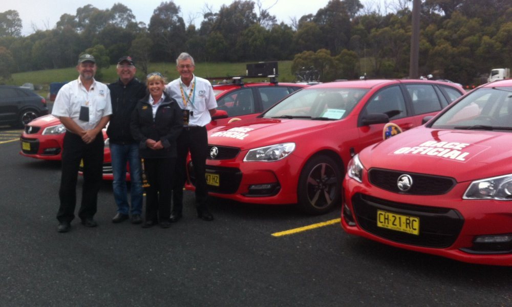 Etape driving team - Kevin Fisher, Mike O'Reilly, Fiona Fahy & Gary Keating