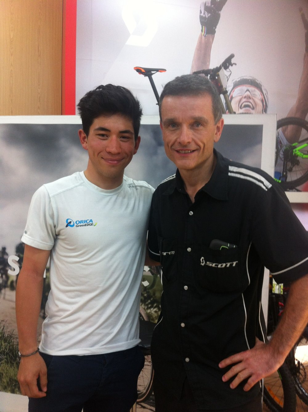 Caleb Ewan & Stephen Brown (AvantiPlus Narrabeen)