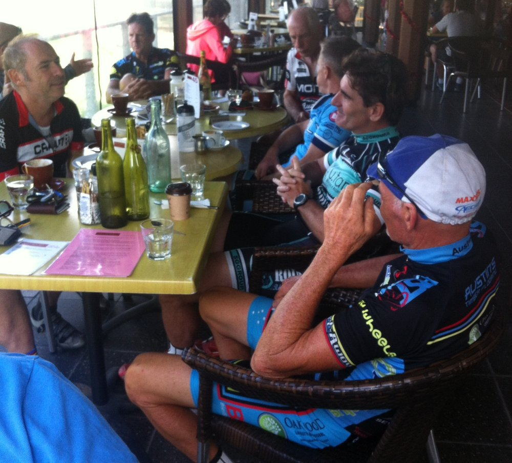 BiciSport coffee is every Saturday at Piemonte Café Terrey Hills @ 9.30am. All welcome.