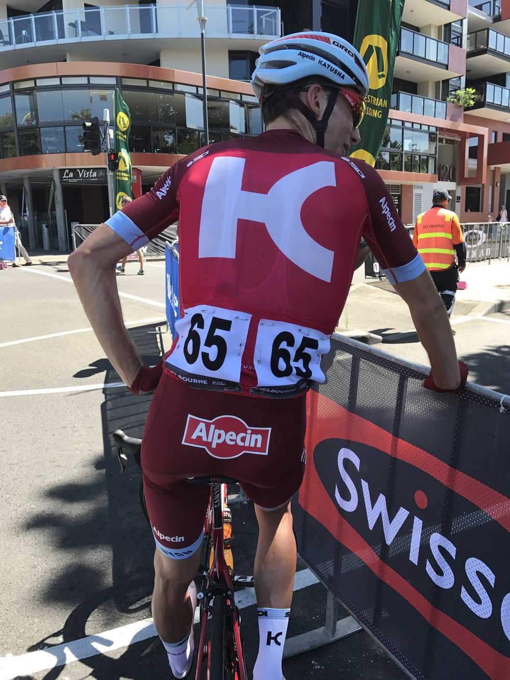 Cadel Evans 2017 - Team Katuska