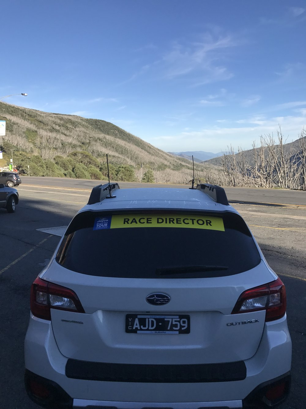 HST 2017 Stage 2 - The day started in Falls Creek with a spectacular view