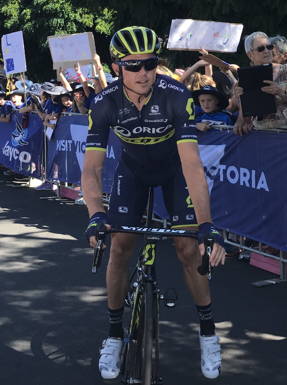 HST 2017 Stage 2 - Simon Gerrans before the start