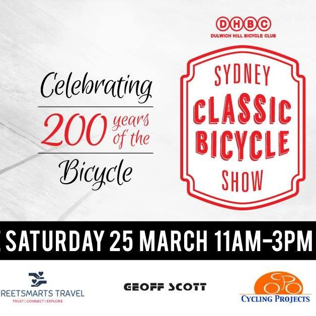 The Classic Bicycle Show is at Tempe Velodrome and well worth a look