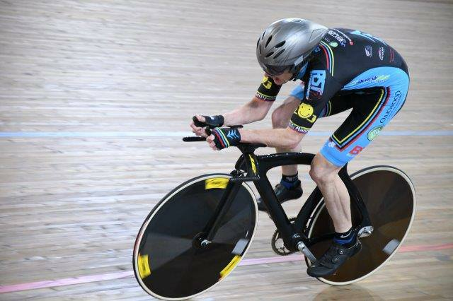 National Masters Track 2017 - Peter Verhoeven during the M6 Pursuit