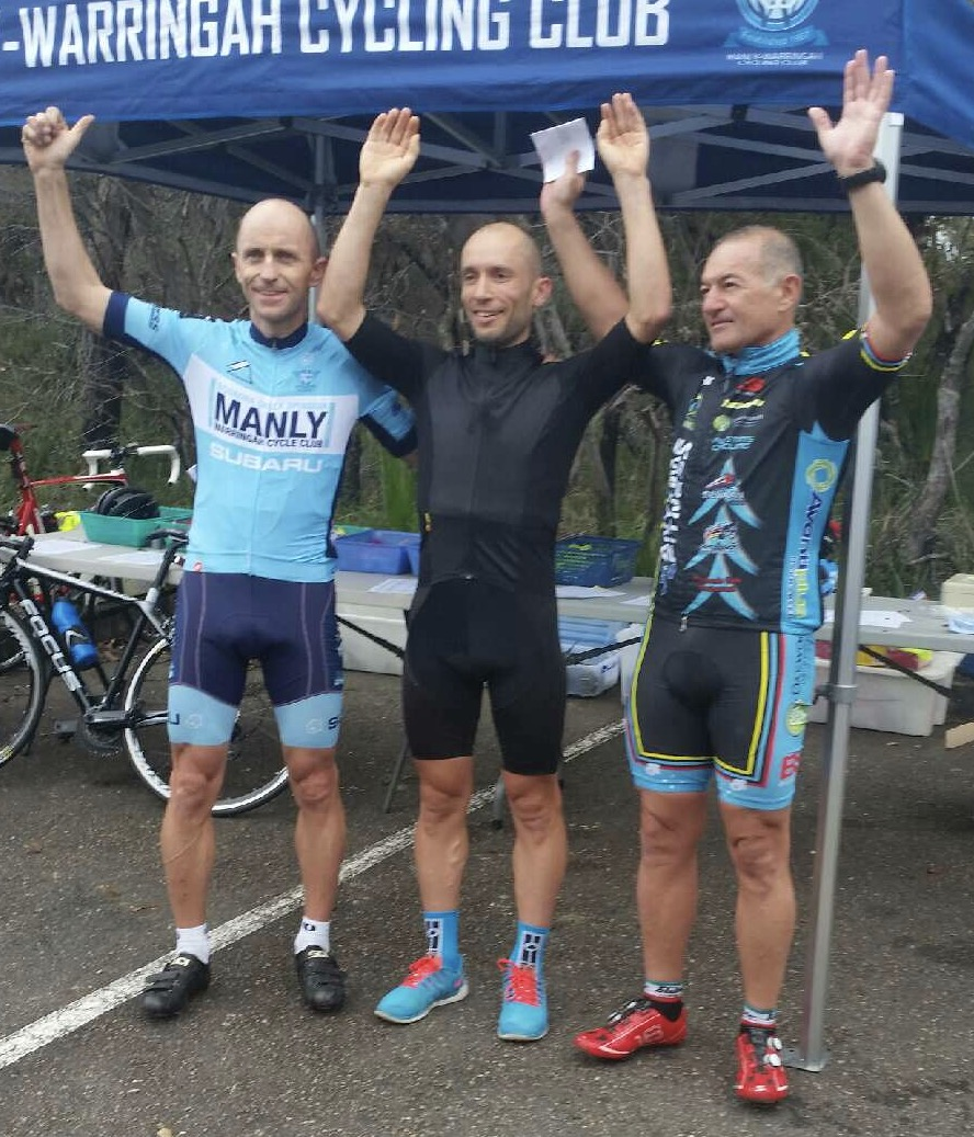 West Head Road Race @ 14 May - Anthony Colantonio took 3rd in B grade.