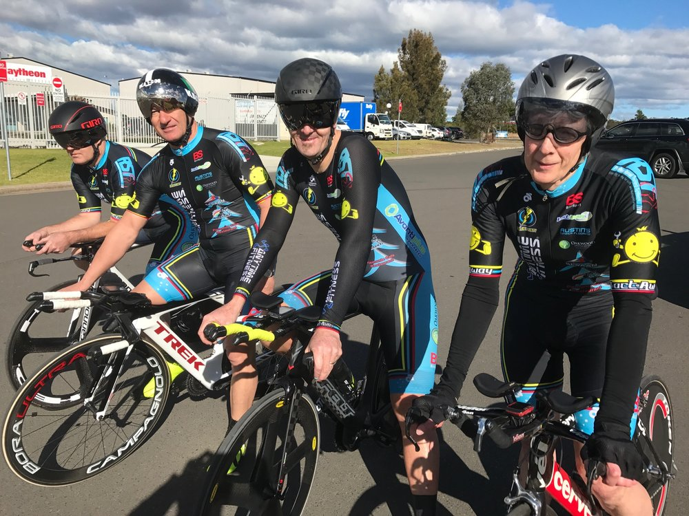 Nowra 17 - Masters 150+ with Michael O'Brien, Anthony Colantonio, Stewart Campbell & Peter Verhoeven