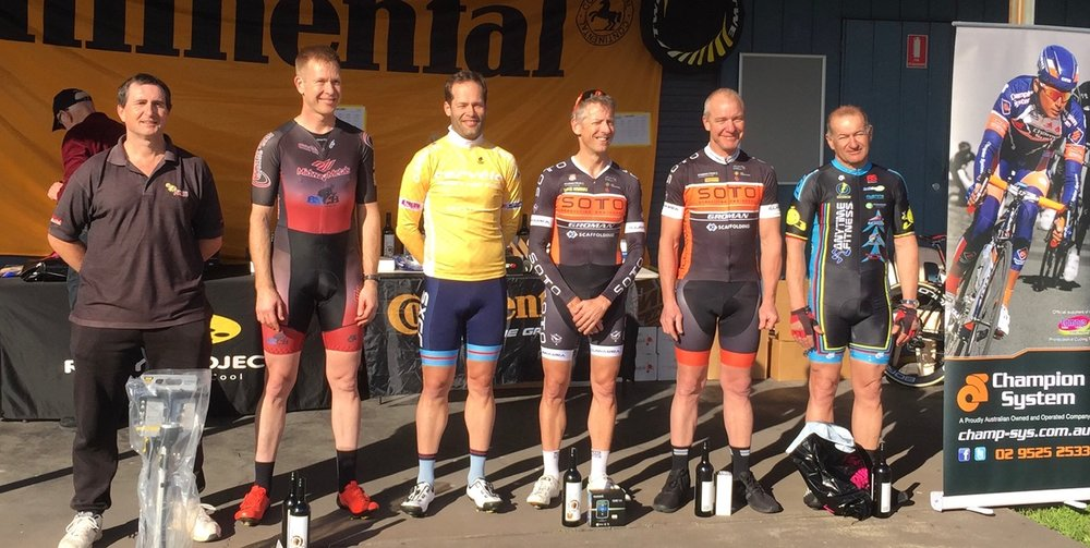 Cervelo Masters 17 - Anthony Colantonio on the Division 2 podium for 6th