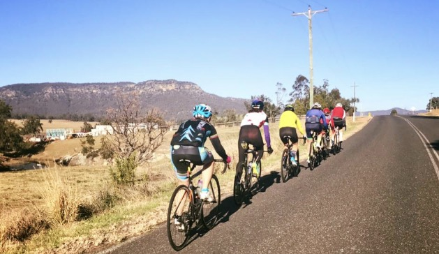 Women's Rapha 100 @ Wollombi @ 23 July - Kirsty Flanagan & Ruth Strapp took part representing BiciSport