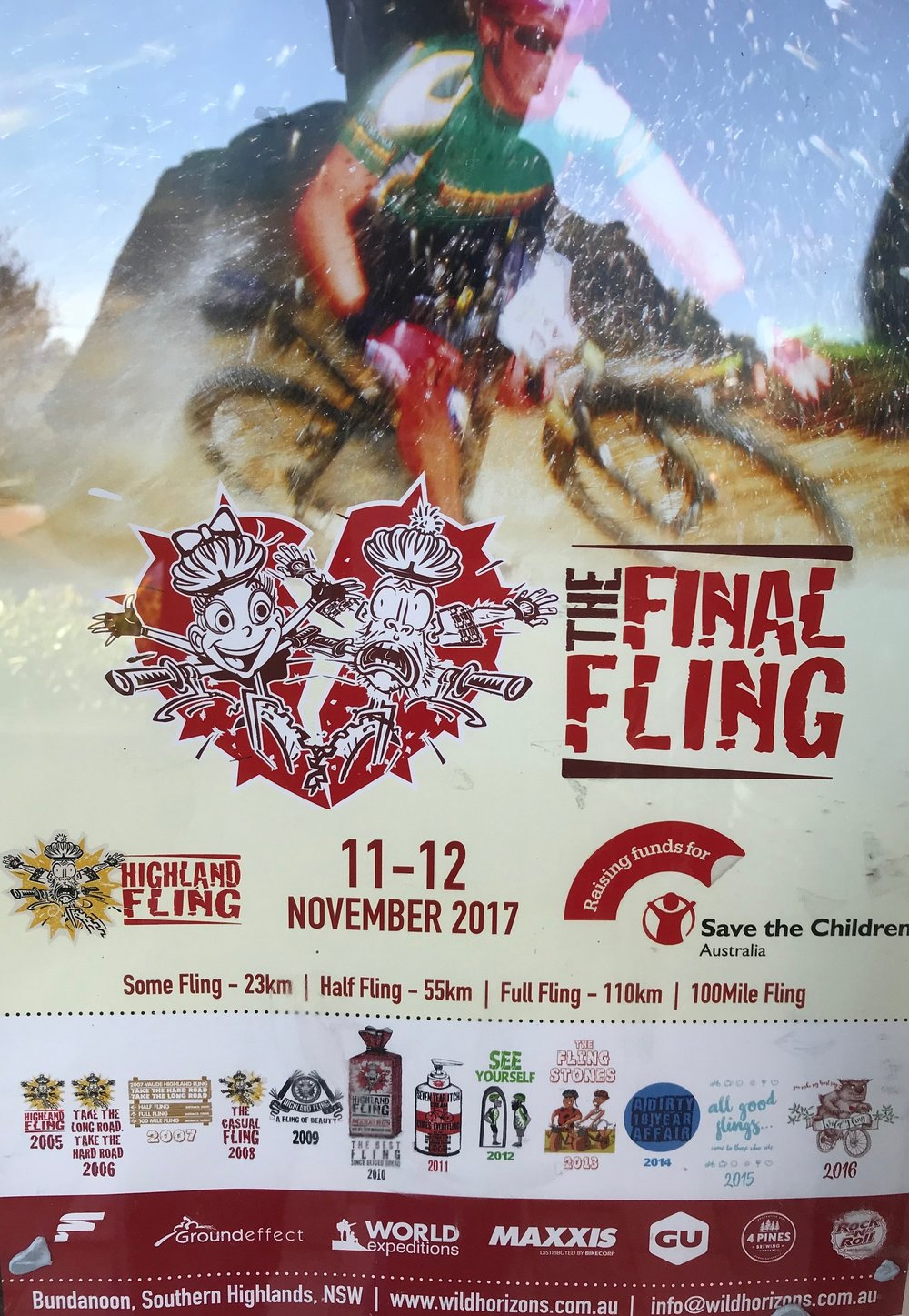 The MTB Highland Fling has its final (yes, final !) romp through the Bundanoon region over 11-12 November