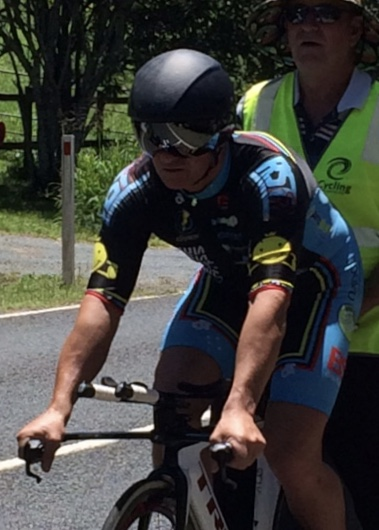 Masters Road Championships 17 - Anthony Colantonio lines up in the Individual Time Trial
