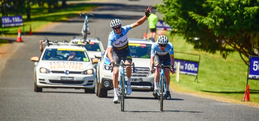 Tour of Tasmania 17 - Peter Livingstone (BiciSport Mobius) wins Stage 1