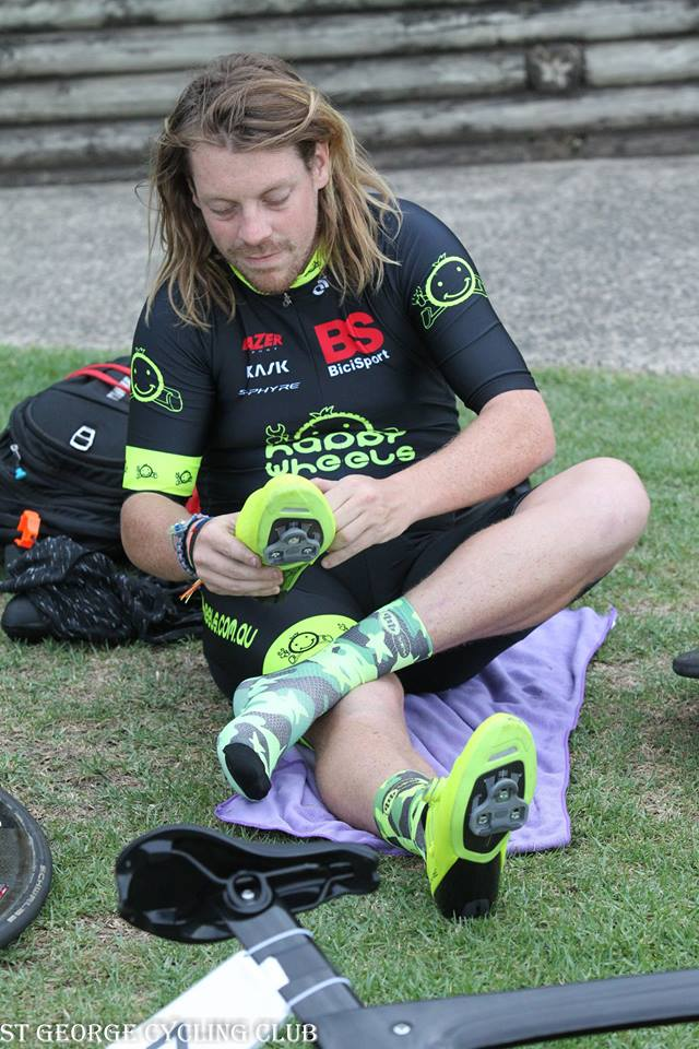 Christmas 17 @ Hurstville Oval - Ben Elliott fires up the flouro S-Phyre shoes