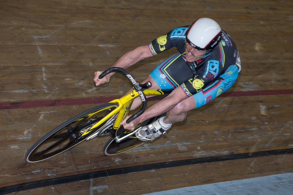 World Masters Track Championships October 15 - David Willmott took Gold in both Sprint & Time Trial