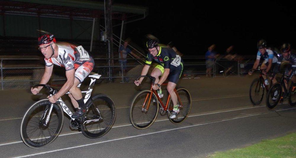 Goulburn 18 - David Browne (BiciSport Happy Wheels) in action