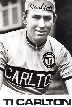Dave Watson circa 1974 riding for the English professional team TI Carlton