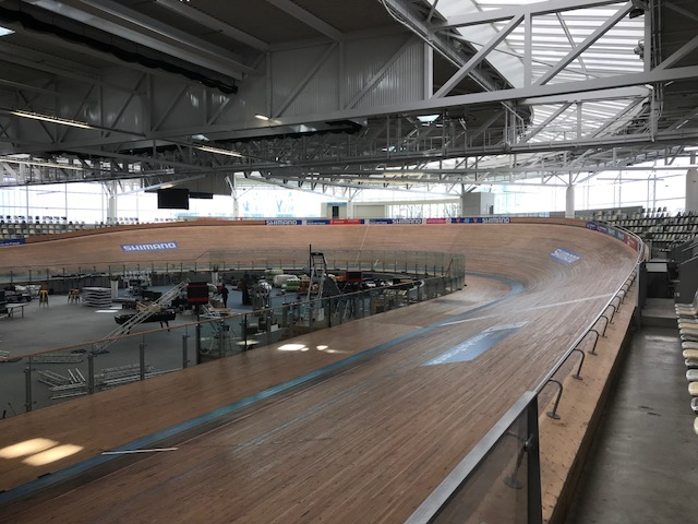 BiciSport in Flanders 18 @ 29 Mar - the Stablinski Velodrome has 44 degree bankings
