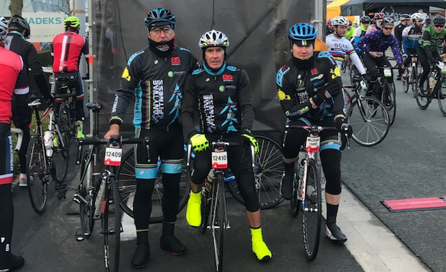 Tour of Flanders Cyclosportive 2018 - Mike O'Reilly, Mike Lawson & Mike O'Brien