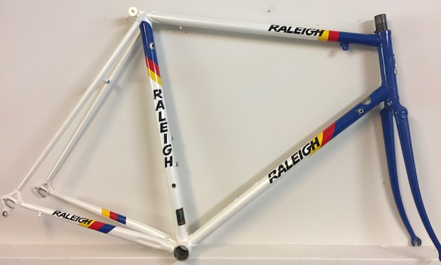 Original Raleigh steel frameset circa 1983