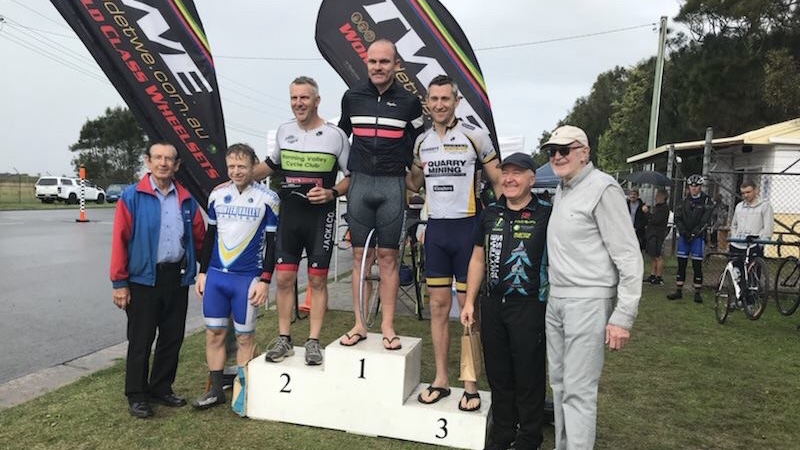 Cervelo Masters @ Kooragang @ 11 June - Graham Cockerton (BiciSport) took 4th in Division 3