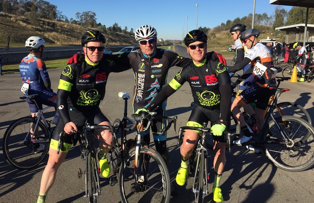 Cervelo Masters @ Sydney Dragway @ 15 July - David Browne, Ian Grainger & Peter Budd