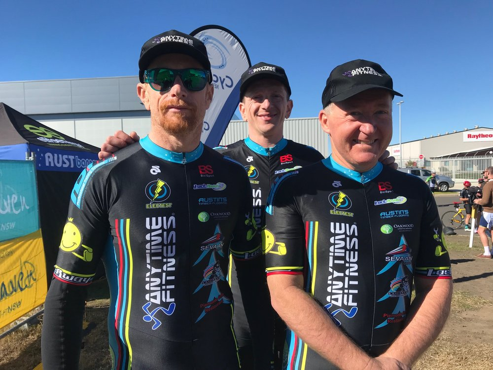 Nowra Team Time Trial Championships @ 21 July - BiciSport Sassafras Challenge Mens Team finished 3rd with Rhett Hall, Tom Green, Graham Cockerton & Stewart Campbell (not in photo)