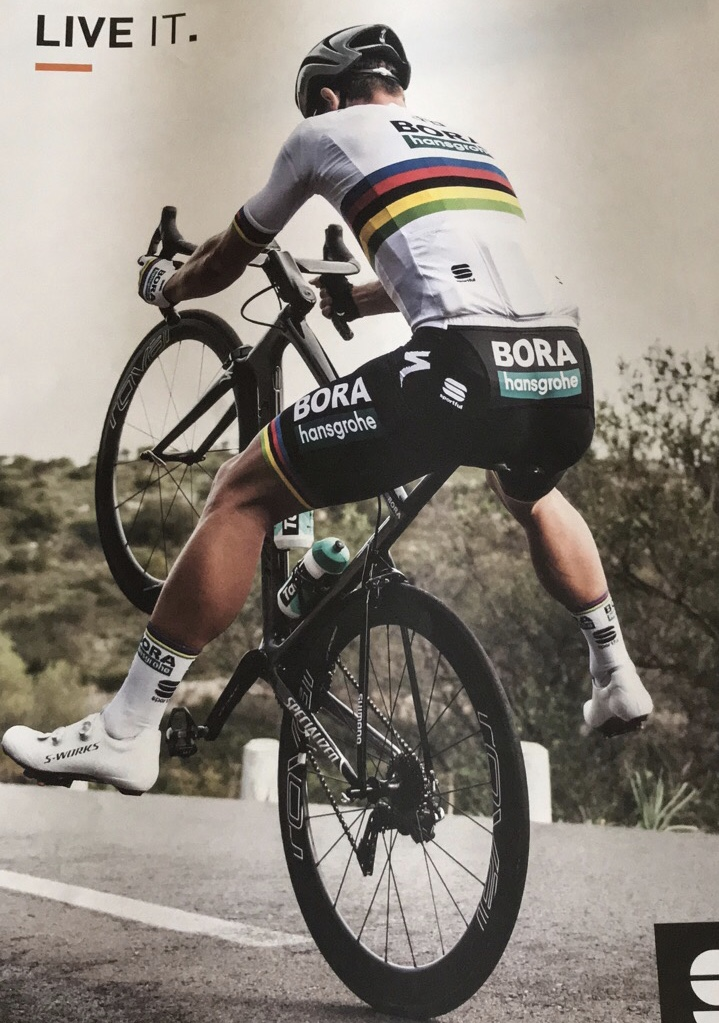 Peter Sagan ... the one the only