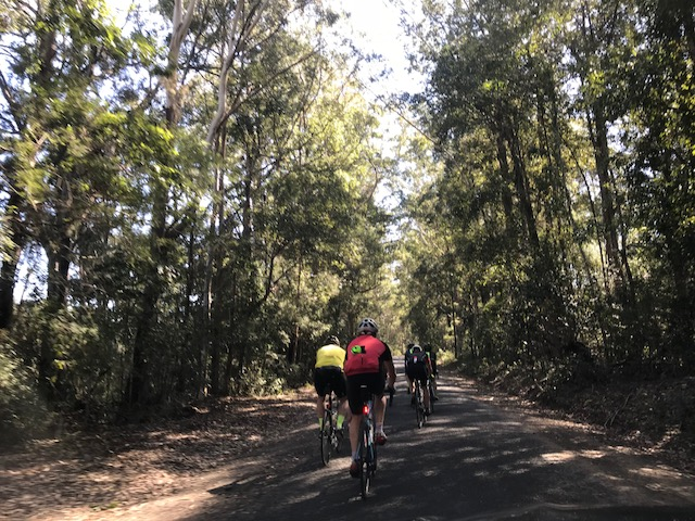 Tour de Bello 18 - Day 2 of the TdB alongside the Kalang River just outside Bellingen offered some great scenery & ideal cycling roads.
