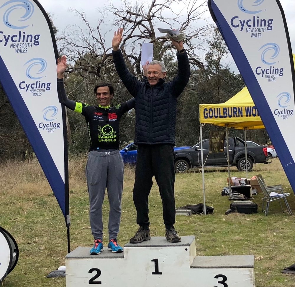 Gunning Individual Time Trials @ 8 Sept - Randolph Baral took his first podium in the BiciSport Happy Wheels team