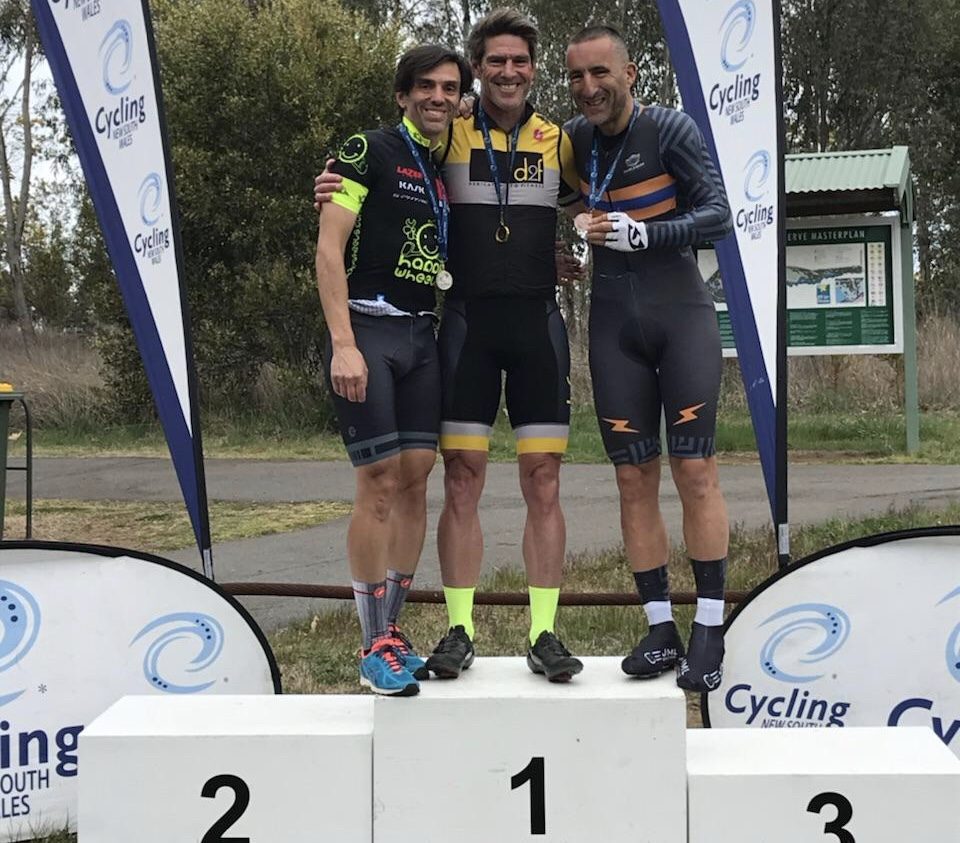 NSW Masters Championships @ 24 Sept - Randolph Baral took the Silver in M5 Time Trial