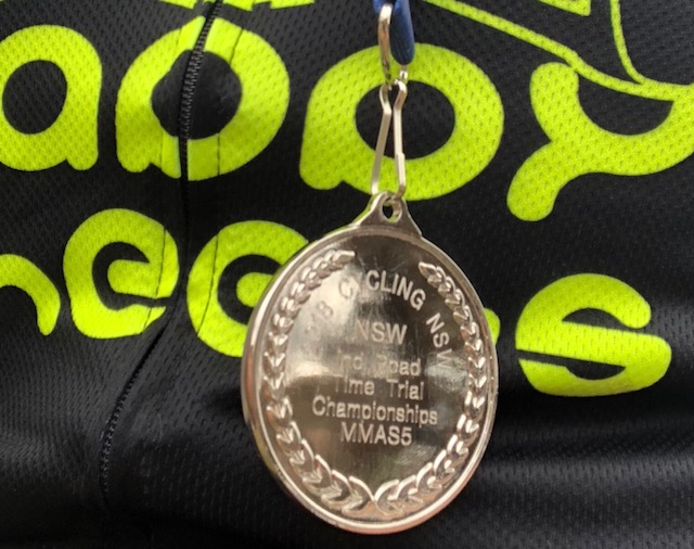 NSW Masters Championships @ 24 Sept - Randolph Baral Silver Medal
