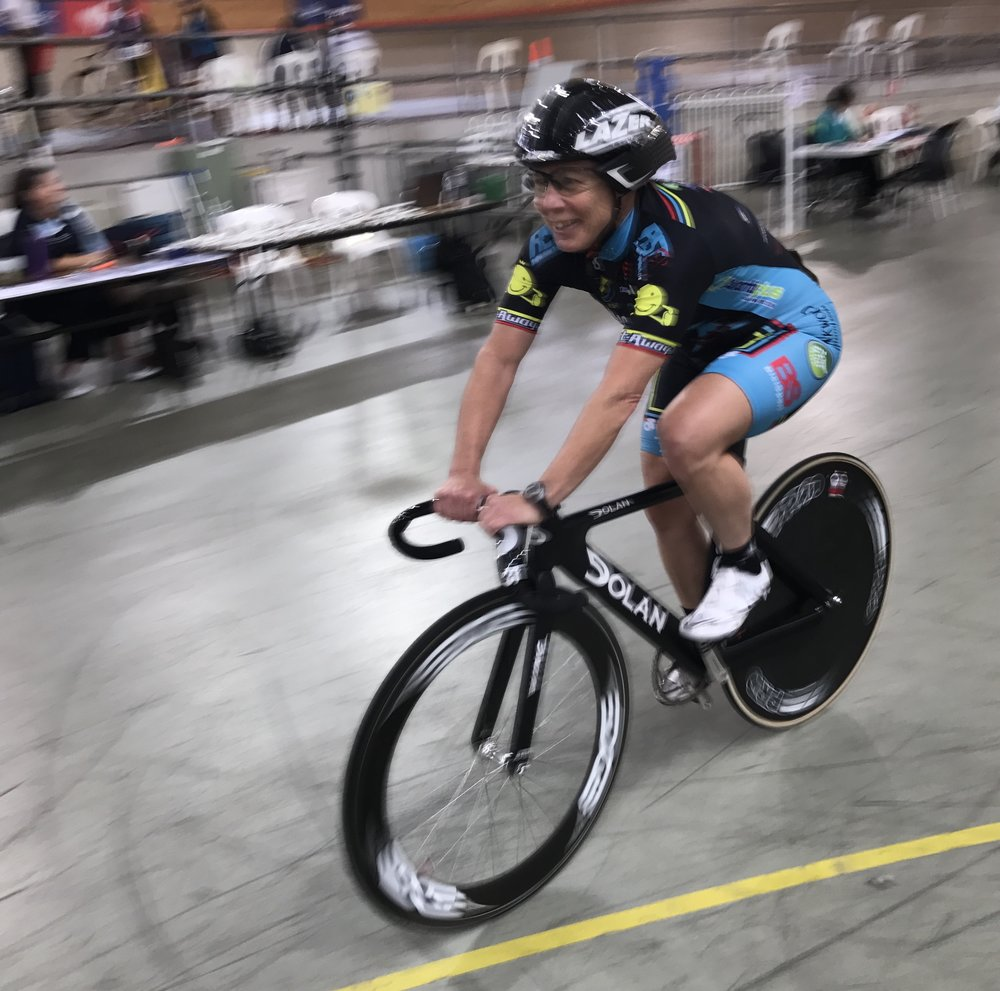 UCI Masters Track Cycling World Championships (Los Angeles) - Lise Benjamin (BiciSport) will join Mike Smith in Los Angeles to contest both the Sprint, Team Sprint & ITT events.