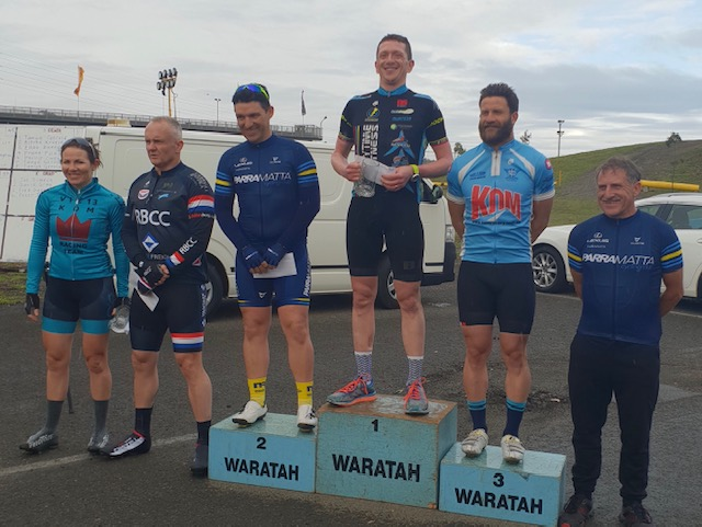 Waratah Masters @ Eastern Creek @ 7 Oct - Tom Green (BiciSport Anytime Fitness) took the B grade win