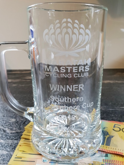 Waratah Masters @ Eastern Creek @ 7 Oct - Tom Green (BiciSport Anytime Fitness) claimed the trophy and then some …