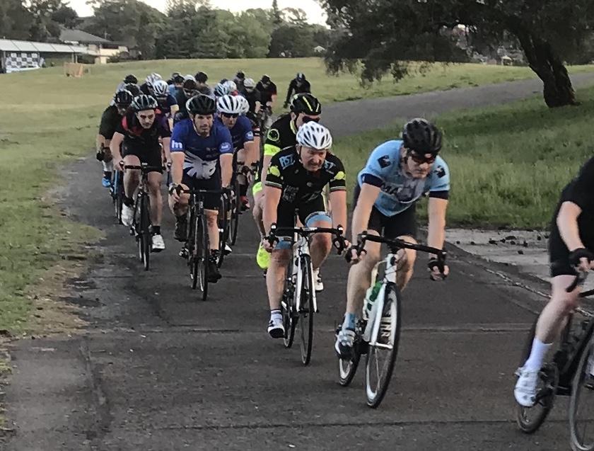 Heffron Park @ 9 Oct - Graham Cockerton (white helmet)