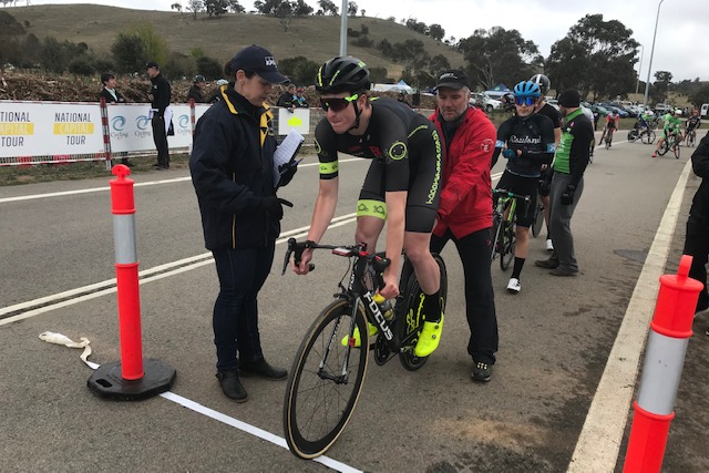 National Capital Tour @ Canberra @ 13 Oct - Conor Tarlington at the Time Trial
